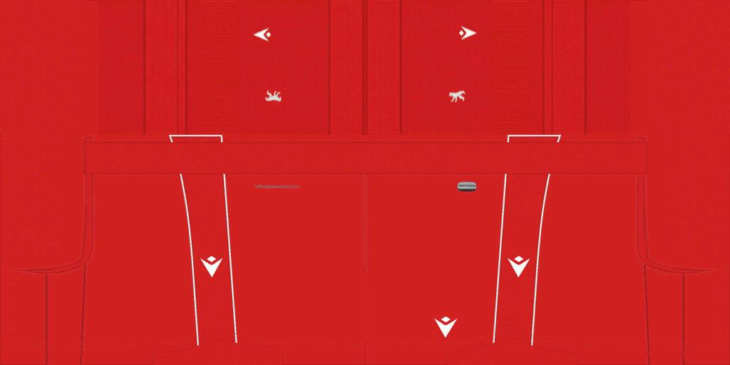 1 FC Union Berlin Home Shorts Kits 8211 1 FC Union Berlin 8211 19 20
