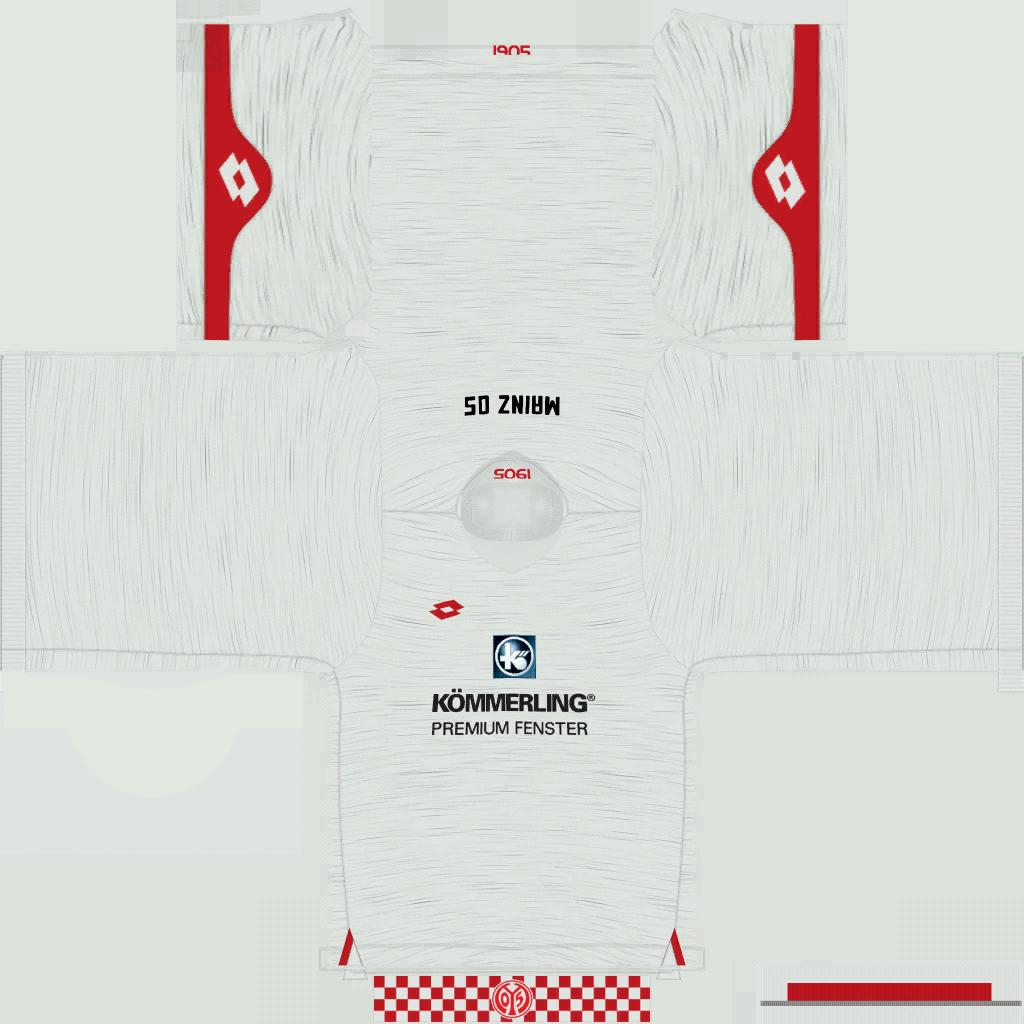 1 FSV Mainz 05 Away Kits Kits 8211 1 FSV Mainz 05 8211 19 20