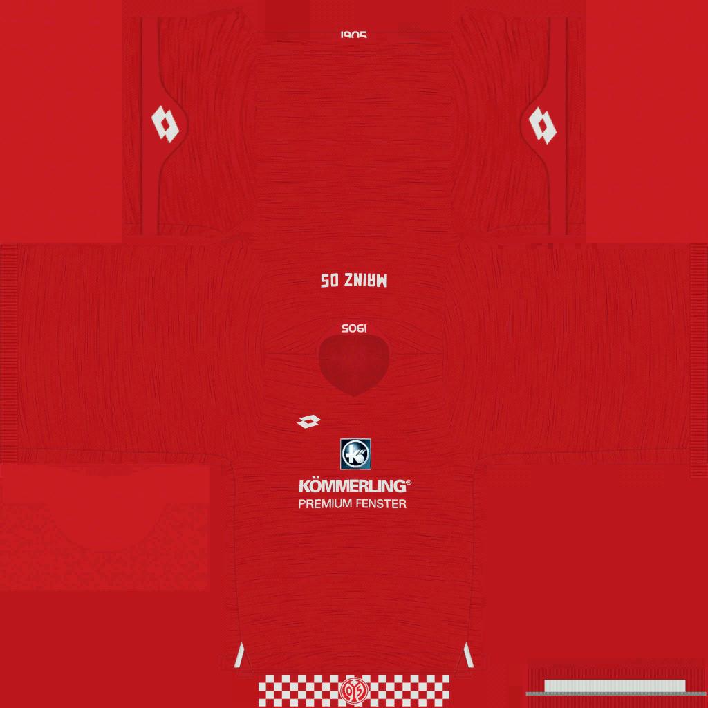 1 FSV Mainz 05 Home Kits Kits 8211 1 FSV Mainz 05 8211 19 20