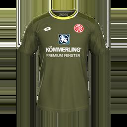 1 FSV Mainz 05 Third MiniKits Kits 8211 1 FSV Mainz 05 8211 19 20