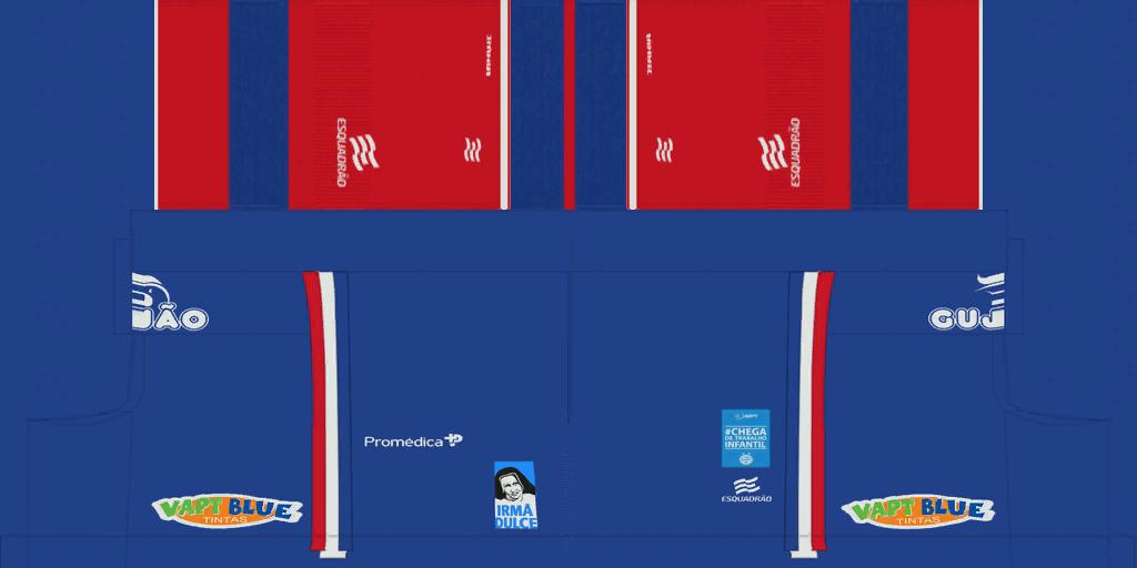 Bahia Away Shorts Kits Bahia 2019 2020