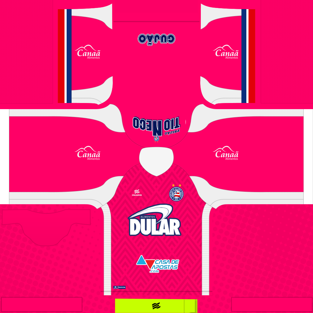 Bahia GK Away Kits Kits Bahia 2019 2020