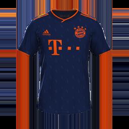 Bayern Munich Third MiniKit Kits 8211 Bayern Munich 8211 19 20