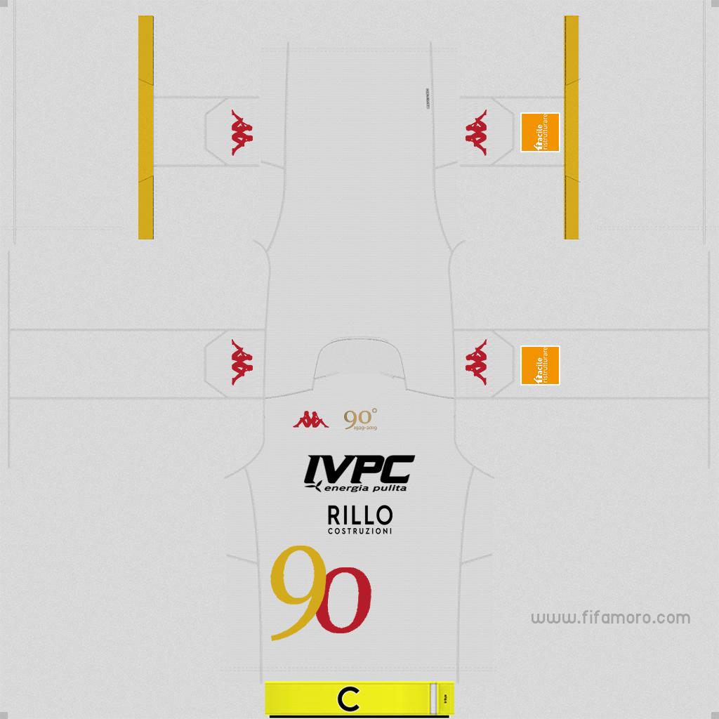 Benevento Fourth Kits Kits 8211 Benevento 8211 19 20