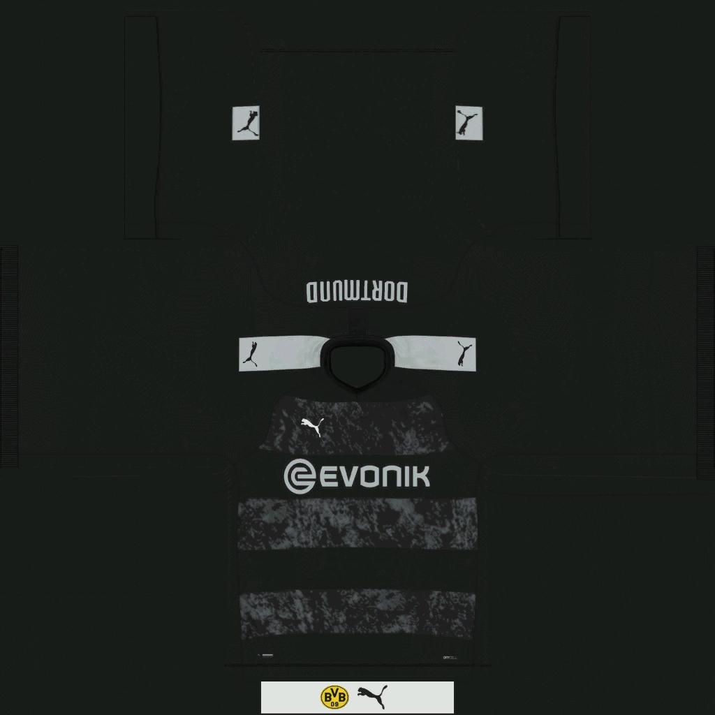 Borussia Dortmund Away Kits Kits 8211 Borussia Dortmund 8211 19 20