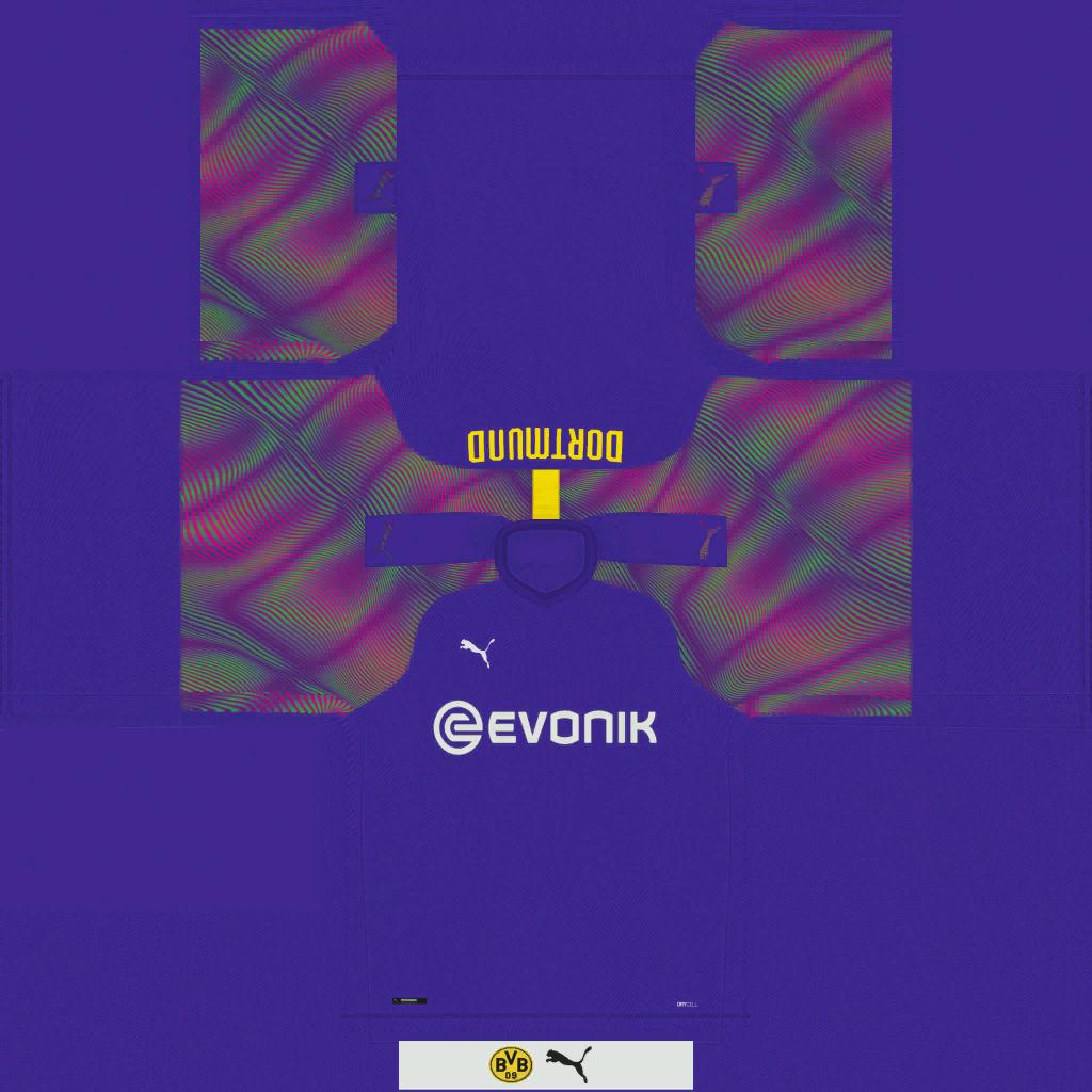 Borussia Dortmund GK Kits Kits 8211 Borussia Dortmund 8211 19 20
