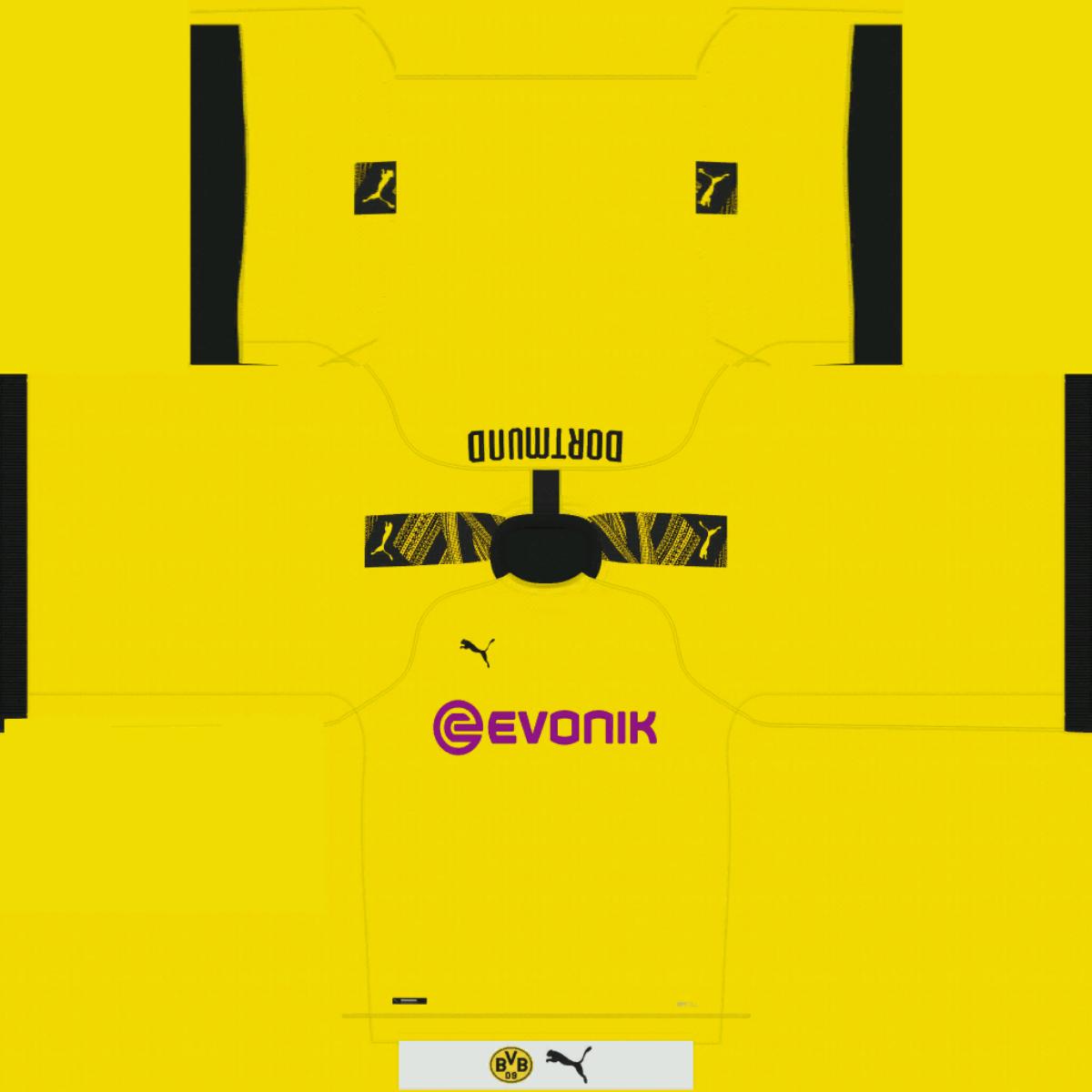 Kits Borussia Dortmund 19 20 Bundesliga Kits Fifamoro