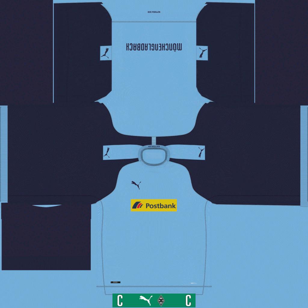 Borussia M Nchengladbach Away Kits Kits 8211 Borussia M Nchengladbach 8211 19 20
