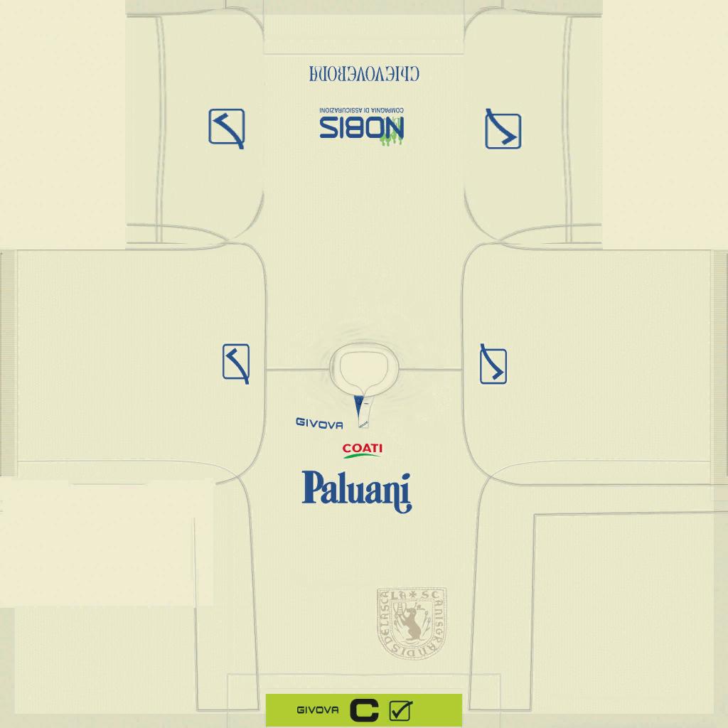 Chievo Verona Away Kits Kits 8211 Chievo Verona 8211 19 20