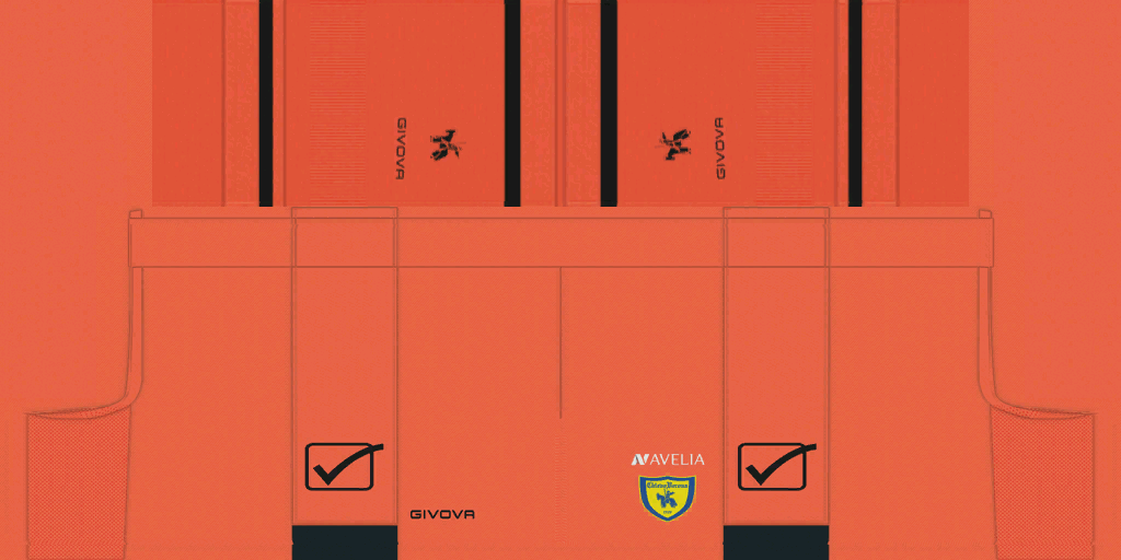Chievo Verona GK Shorts Kits 8211 Chievo Verona 8211 19 20