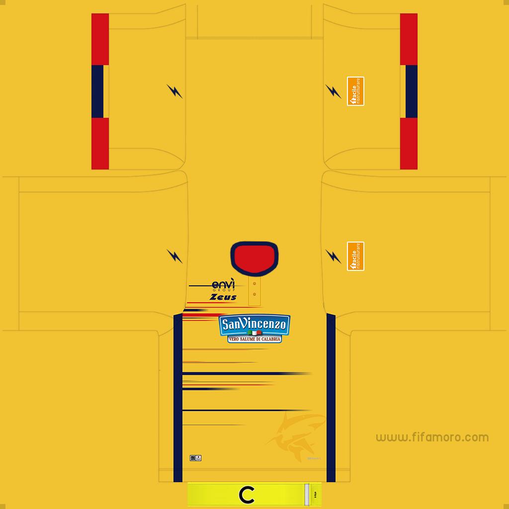 Crotone Third Kits Kits 8211 Crotone 8211 19 20