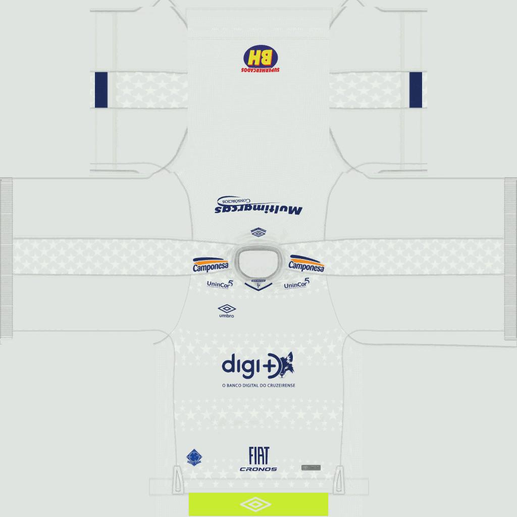 Cruzeiro Away Kits Kits Cruzeiro 2019 2020