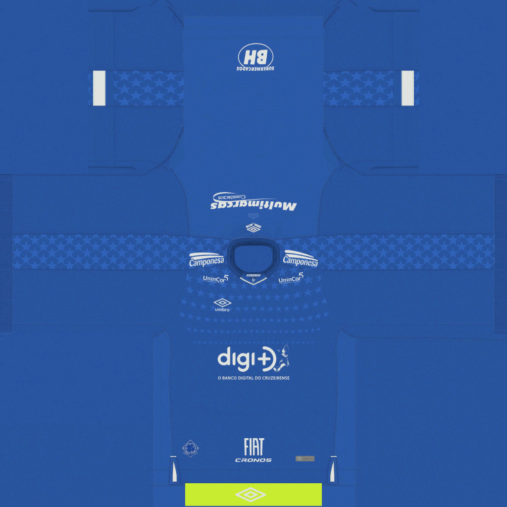 Cruzeiro Home Kits Kits Cruzeiro 2019 2020