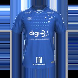 Cruzeiro Home MiniKits Kits Cruzeiro 2019 2020