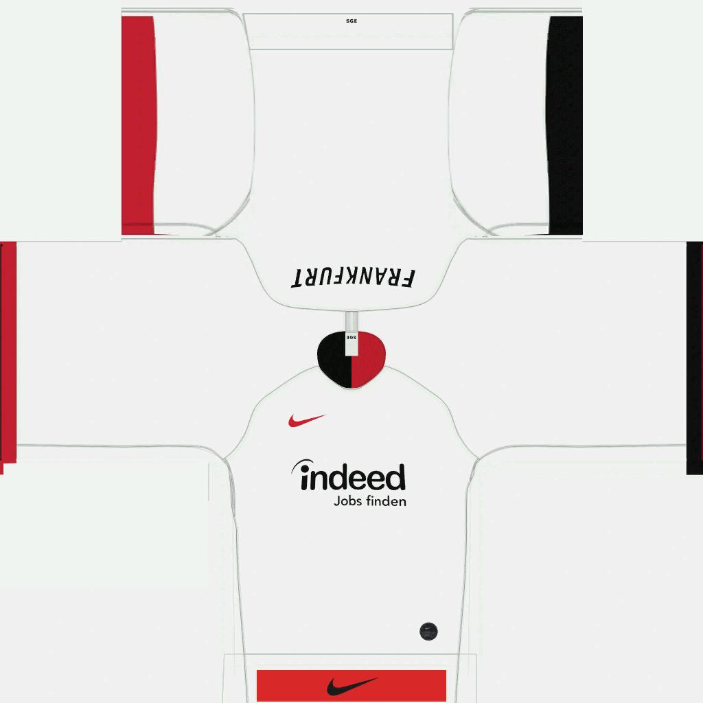 Eintracht Frankfurt Away Kits Kits 8211 Eintracht Frankfurt 8211 19 20