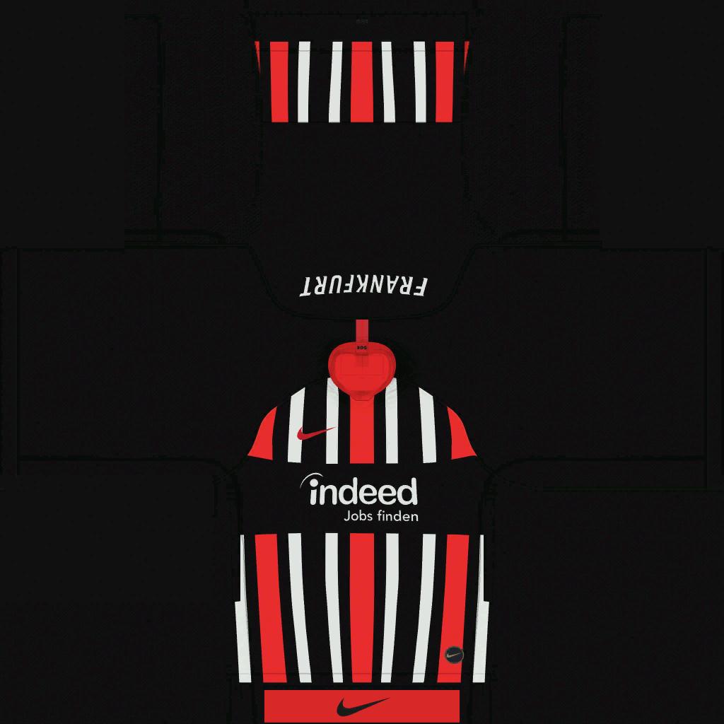 Eintracht Frankfurt Home Kits Kits 8211 Eintracht Frankfurt 8211 19 20