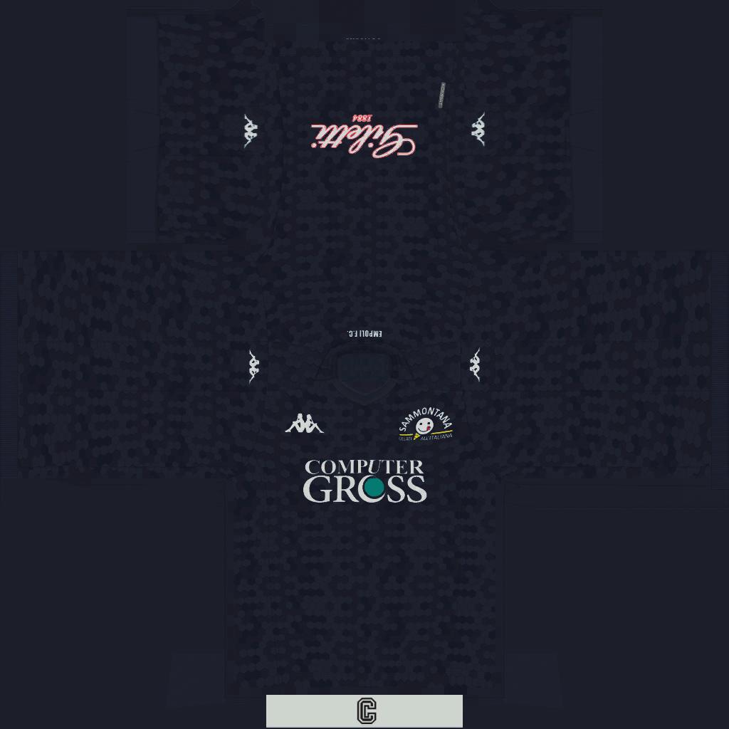 Empoli Third Kits Kits 8211 Empoli 8211 19 20
