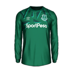 Everton GK Away MiniKits Kits 8211 Everton 8211 19 20 RX3 GK Kits Added