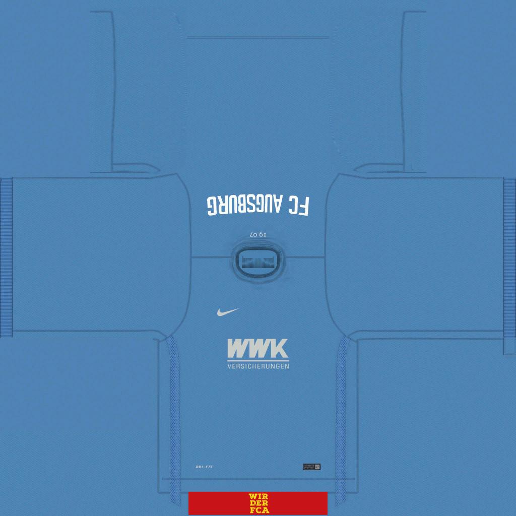 FC Augsburg GK Kits Kits 8211 FC Augsburg 8211 19 20