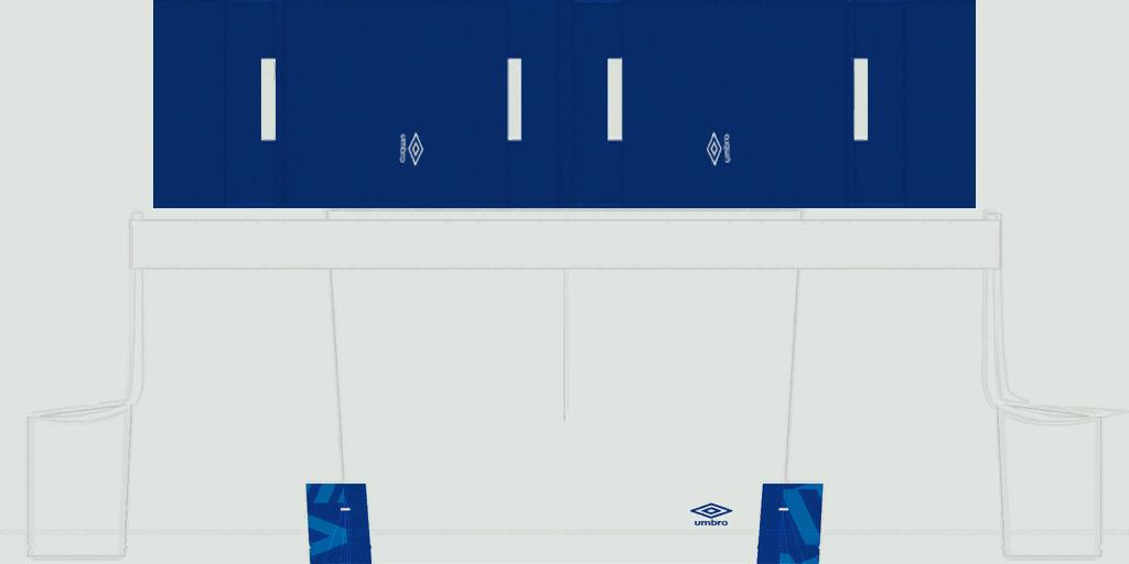 FC Schalke 04 Home Shorts Kits 8211 FC Schalke 04 8211 19 20