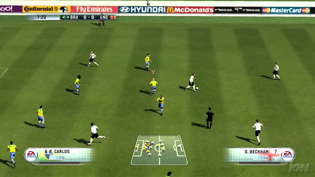 FIFA 06 In-Game