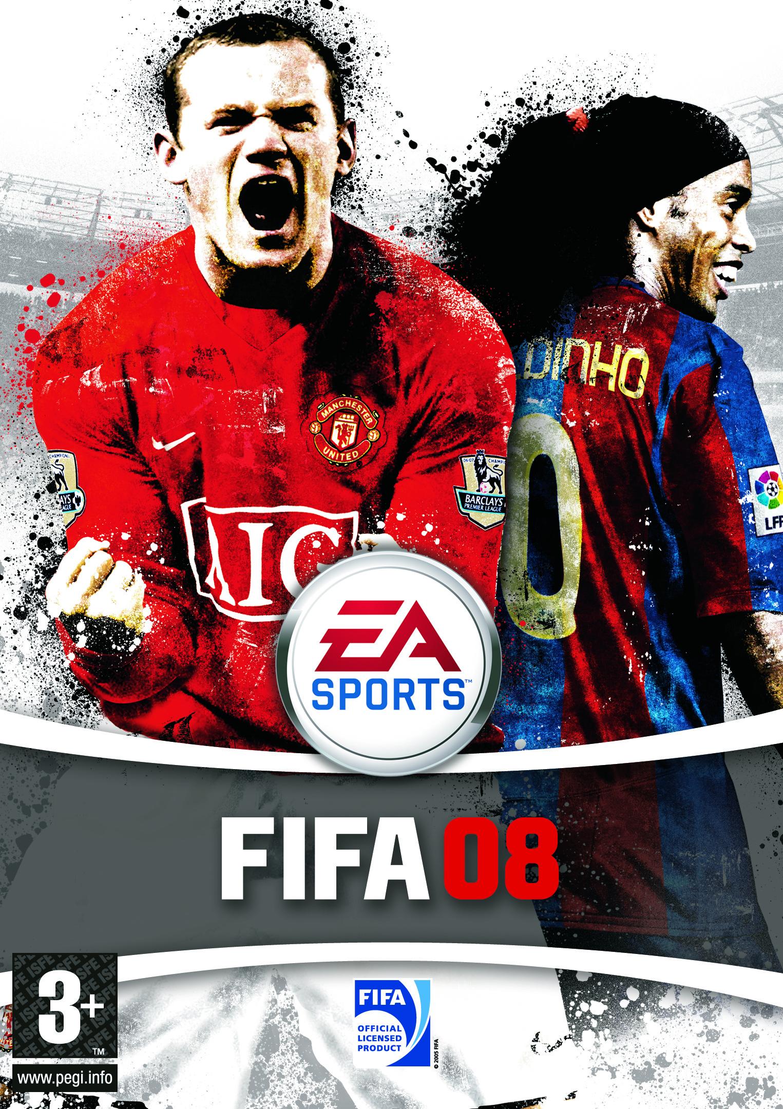 FIFA 08 Cover