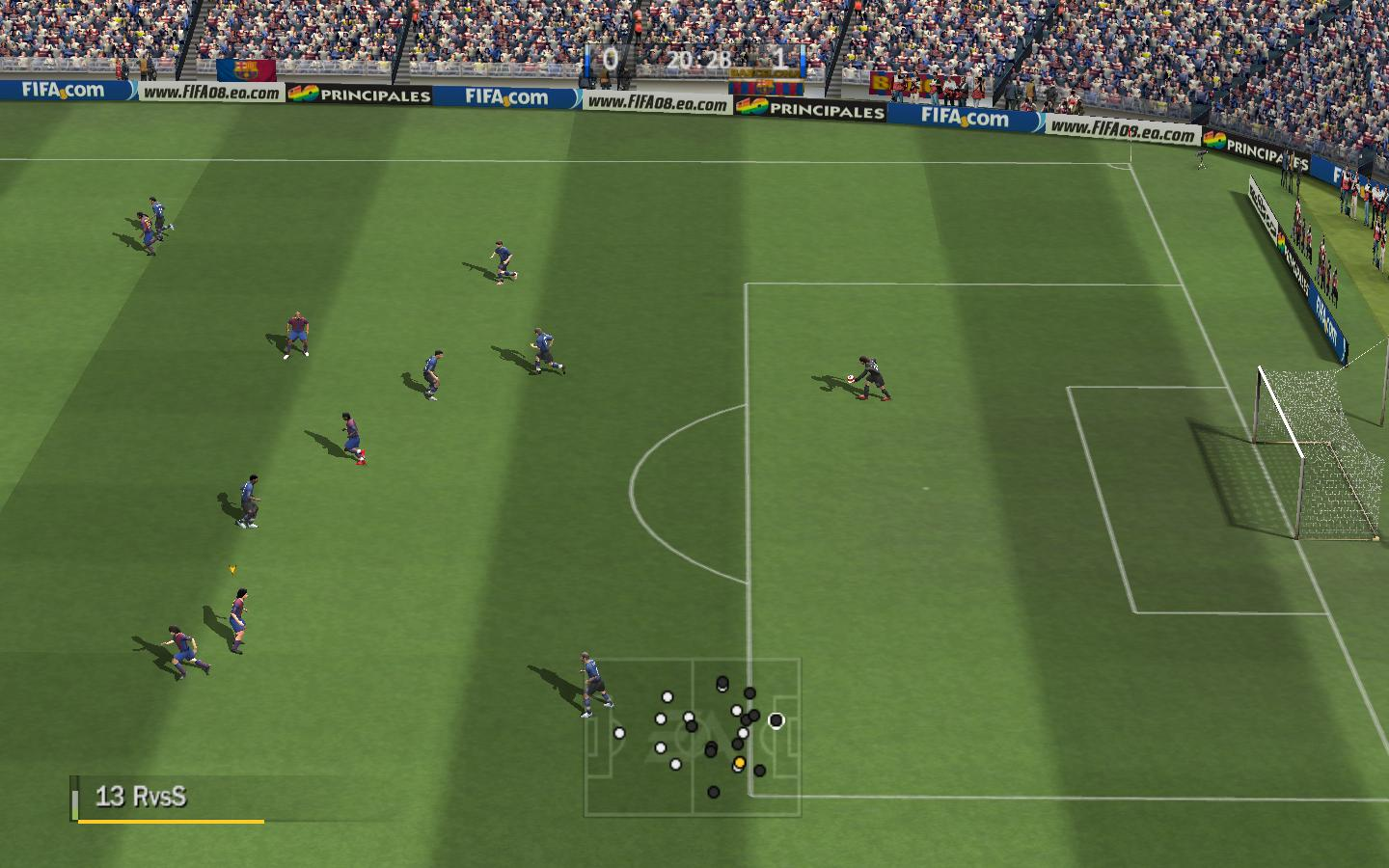 FIFA 08 In-Game