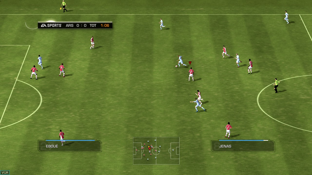 FIFA 09 In-Game
