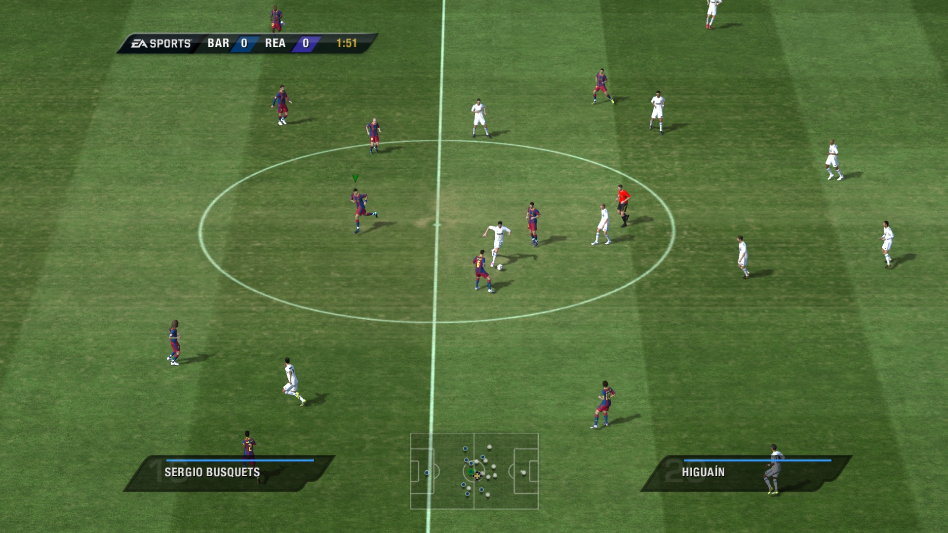 FIFA 11 In-Game