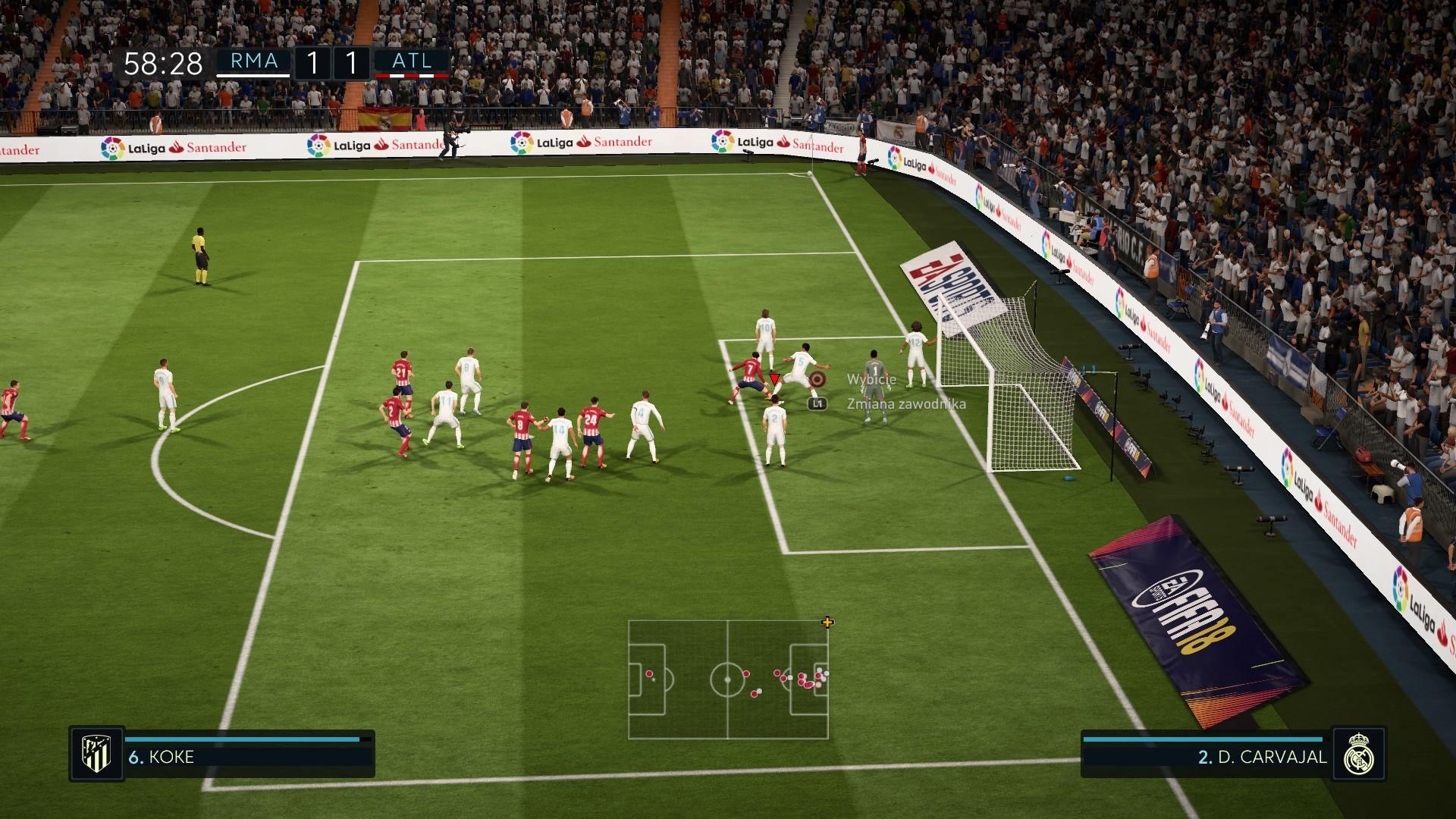 FIFA 18 In-Game