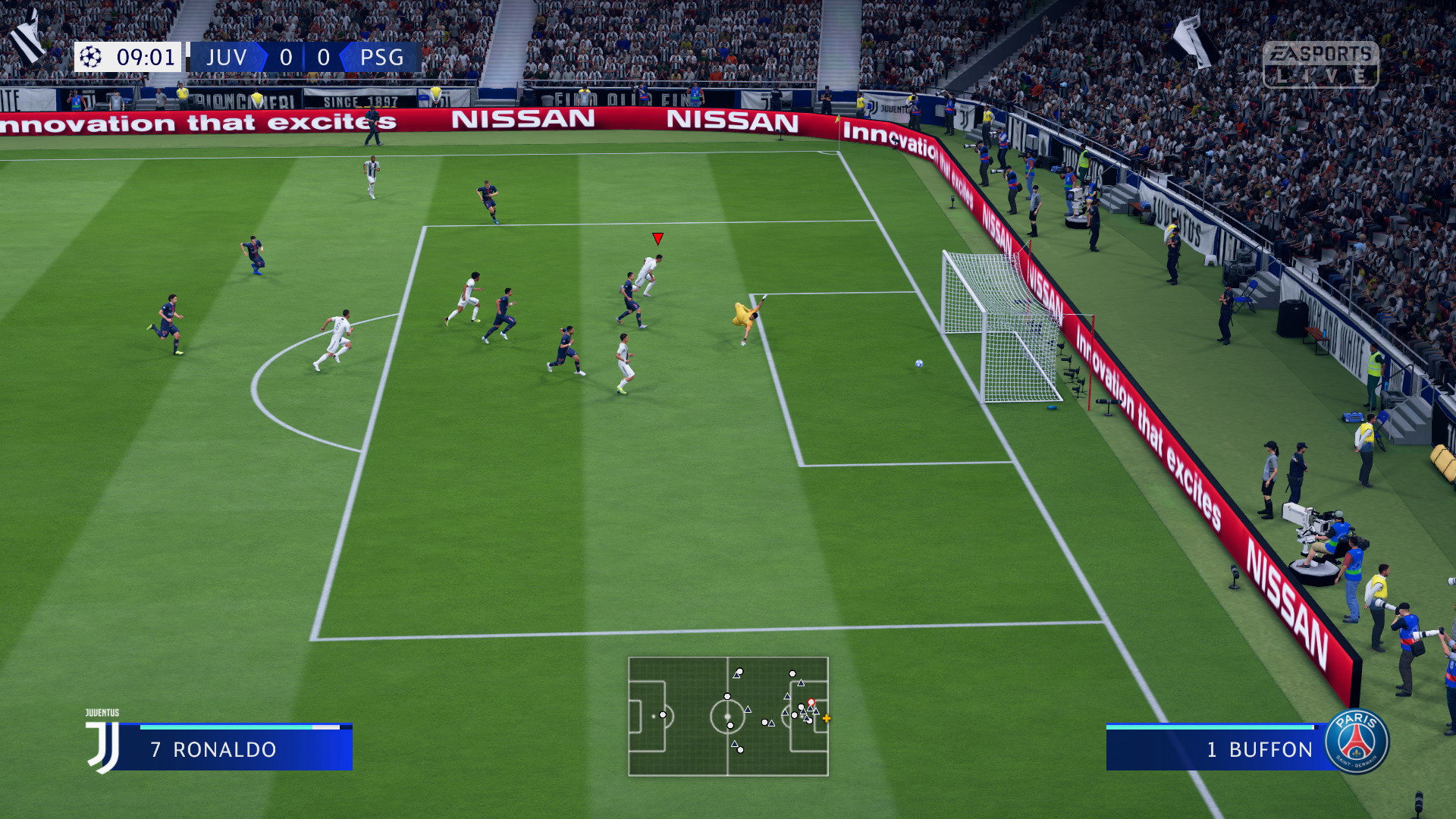 FIFA 19 In-Game