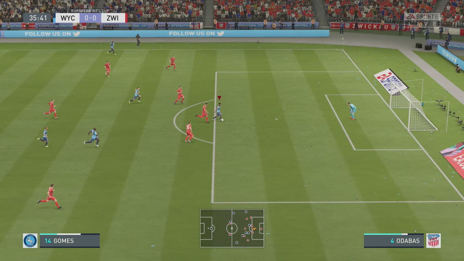 FIFA 20 In-Game