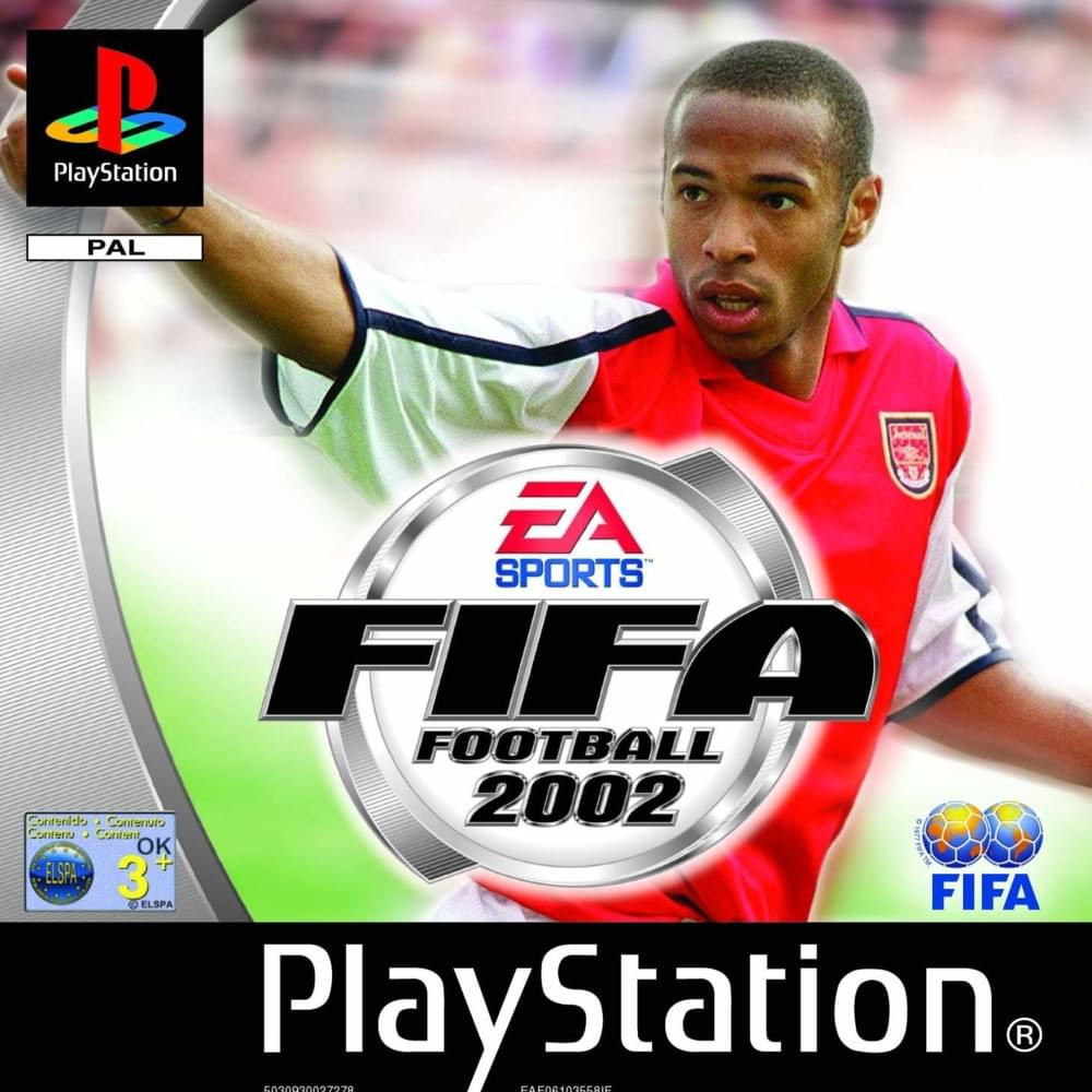 FIFA 2002 Cover FIFA Games Evolution From 94 2020