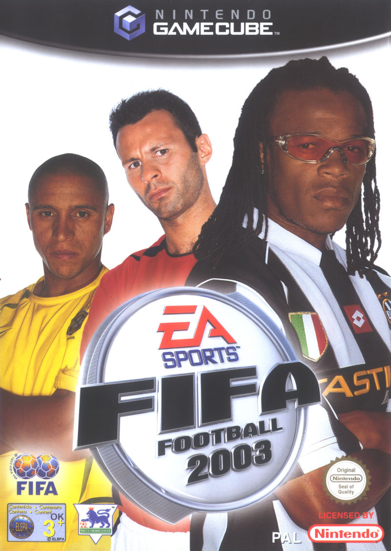 FIFA 2003 Cover FIFA Games Evolution From 94 2020