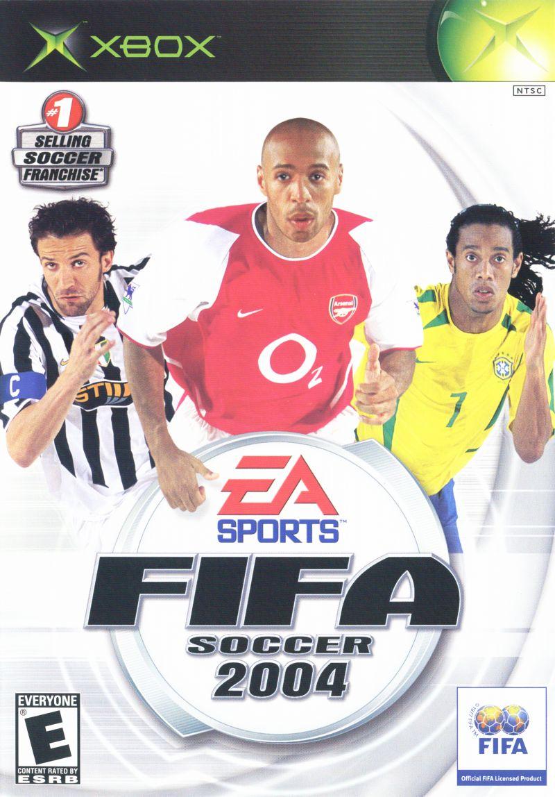 FIFA 2004 Cover