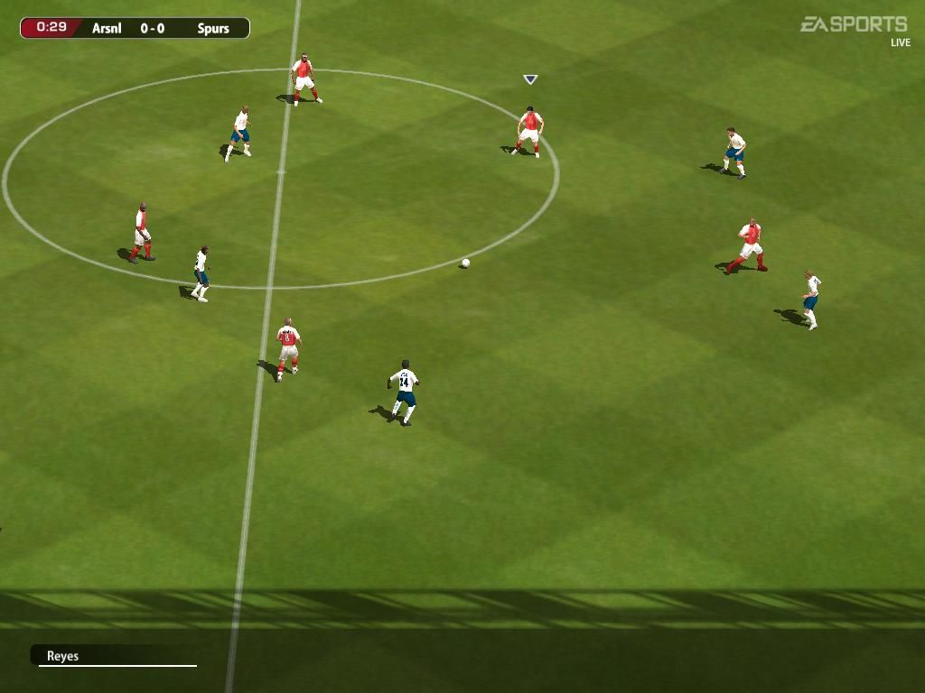 FIFA 2005 In-Game