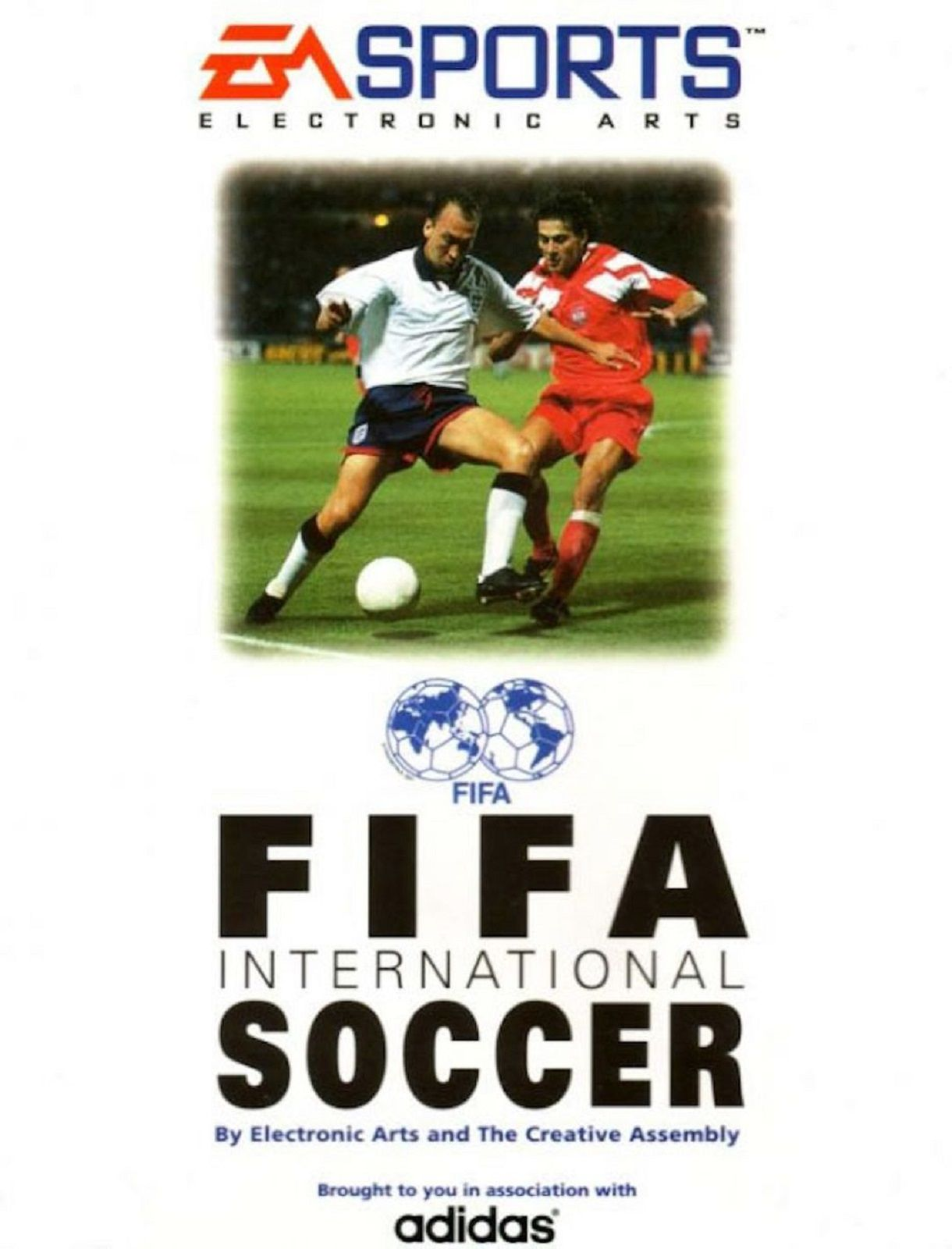 FIFA 94 Cover 1 FIFA Games Evolution From 94 2020