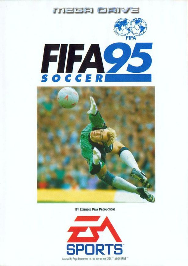 FIFA 95 Cover FIFA Games Evolution From 94 2020