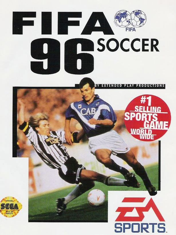 FIFA 96 Cover FIFA Games Evolution From 94 2020