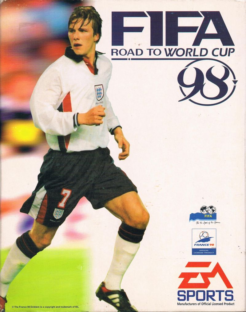 FIFA 98 Cover FIFA Games Evolution From 94 2020