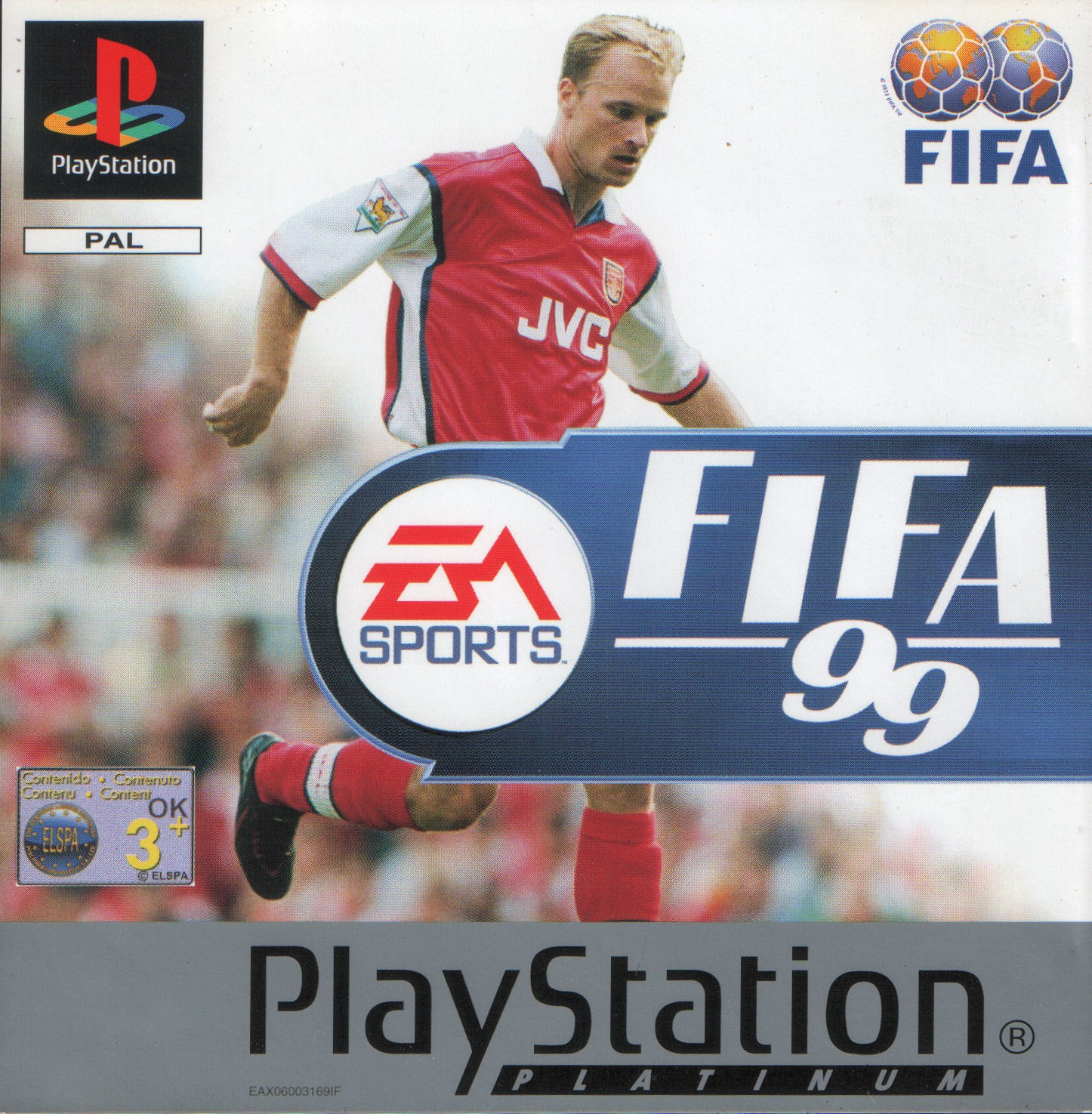 FIFA 99 Cover FIFA Games Evolution From 94 2020