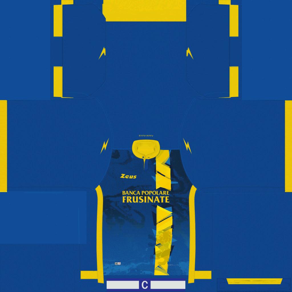 Frosinone Away Kits Kits 8211 Frosinone 8211 19 20
