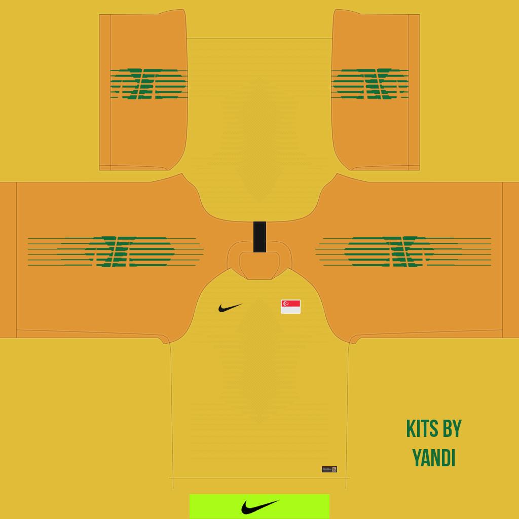 Gk Shirt Kits 8211 Singapore National Team 8211 18 20