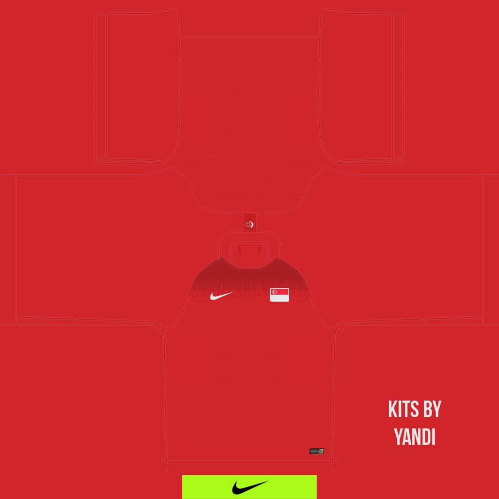 Home Shirt Kits 8211 Singapore National Team 8211 18 20