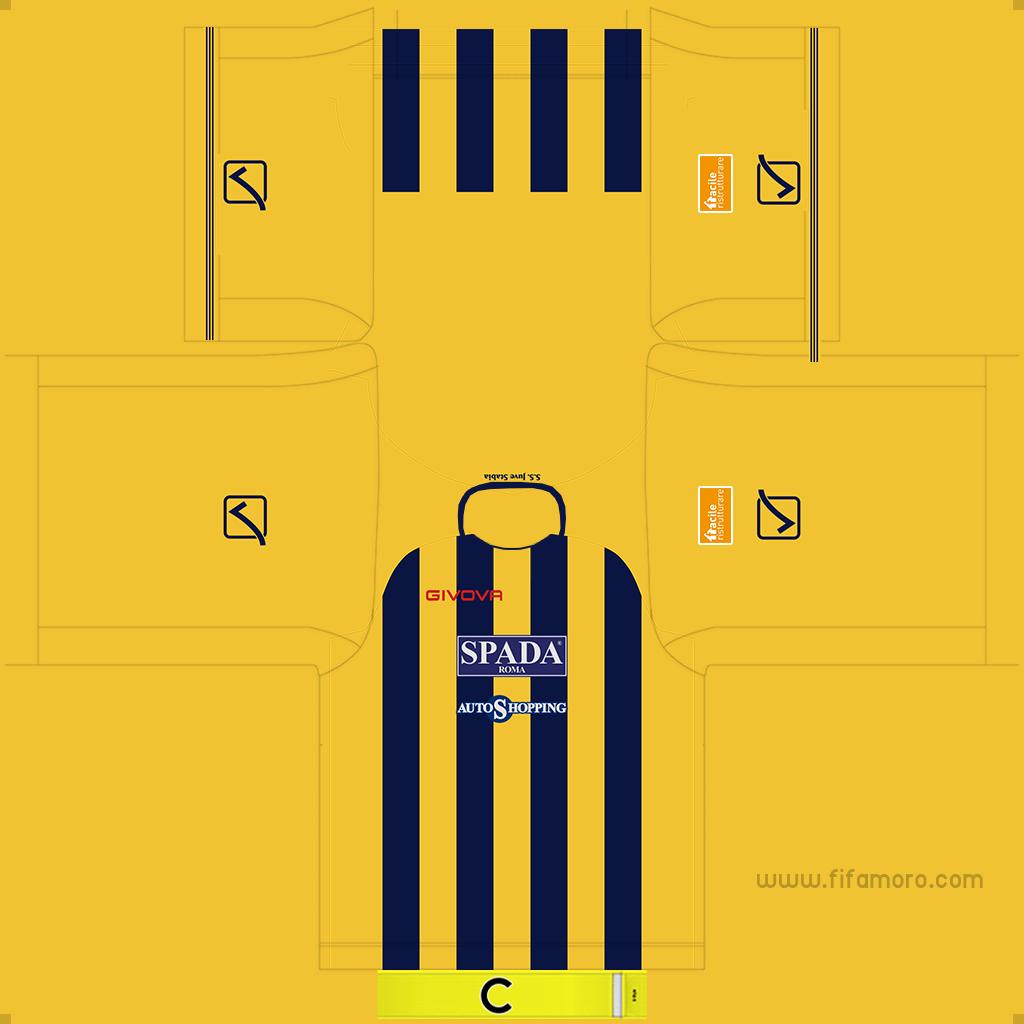 Juve Stabia Home Kits Kits 8211 Juve Stabia 8211 19 20