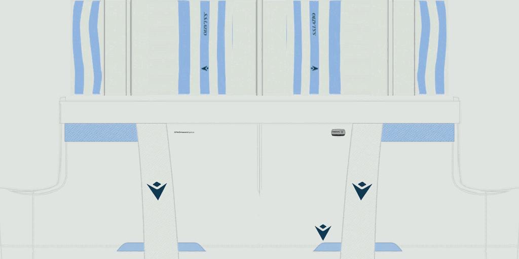 Lazio Home Shorts Kits Lazio 2019 2020