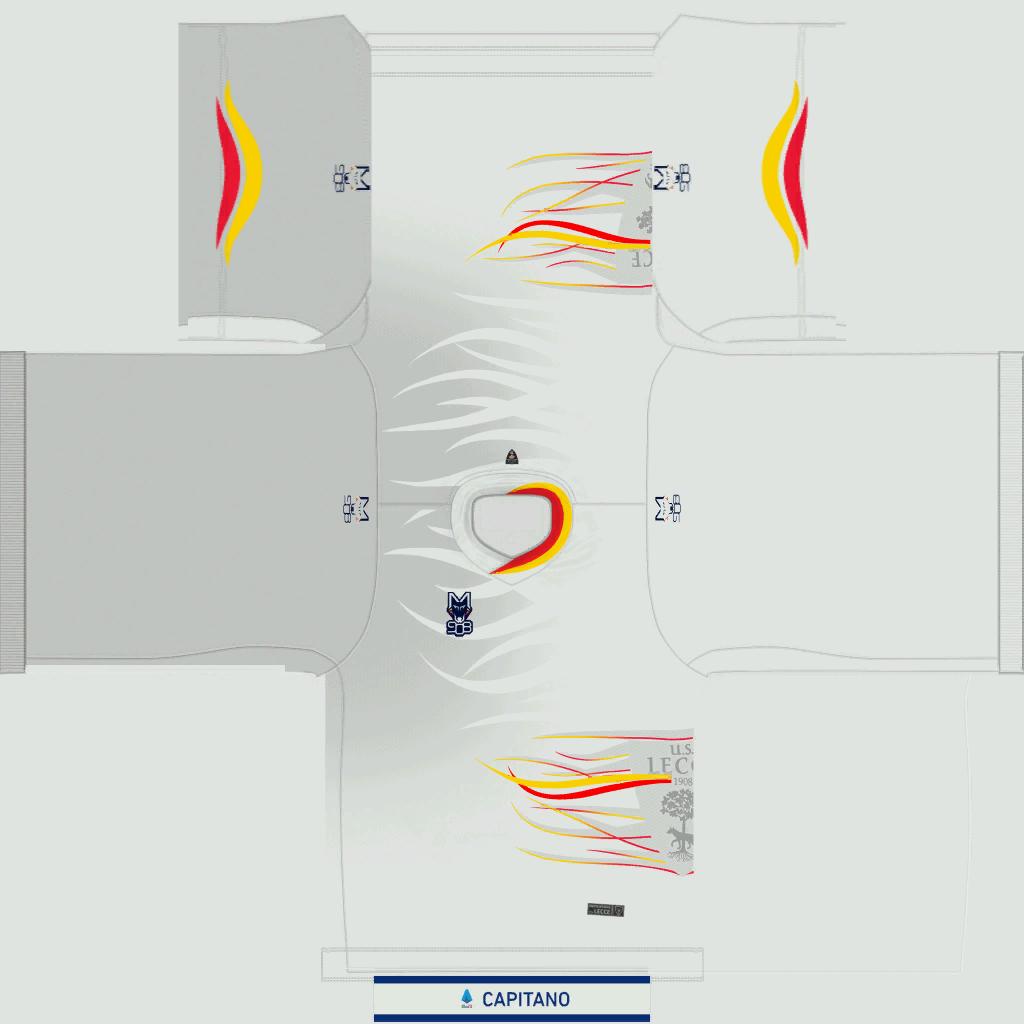 Lecce Away Kit Kits Lecce 2019 2020
