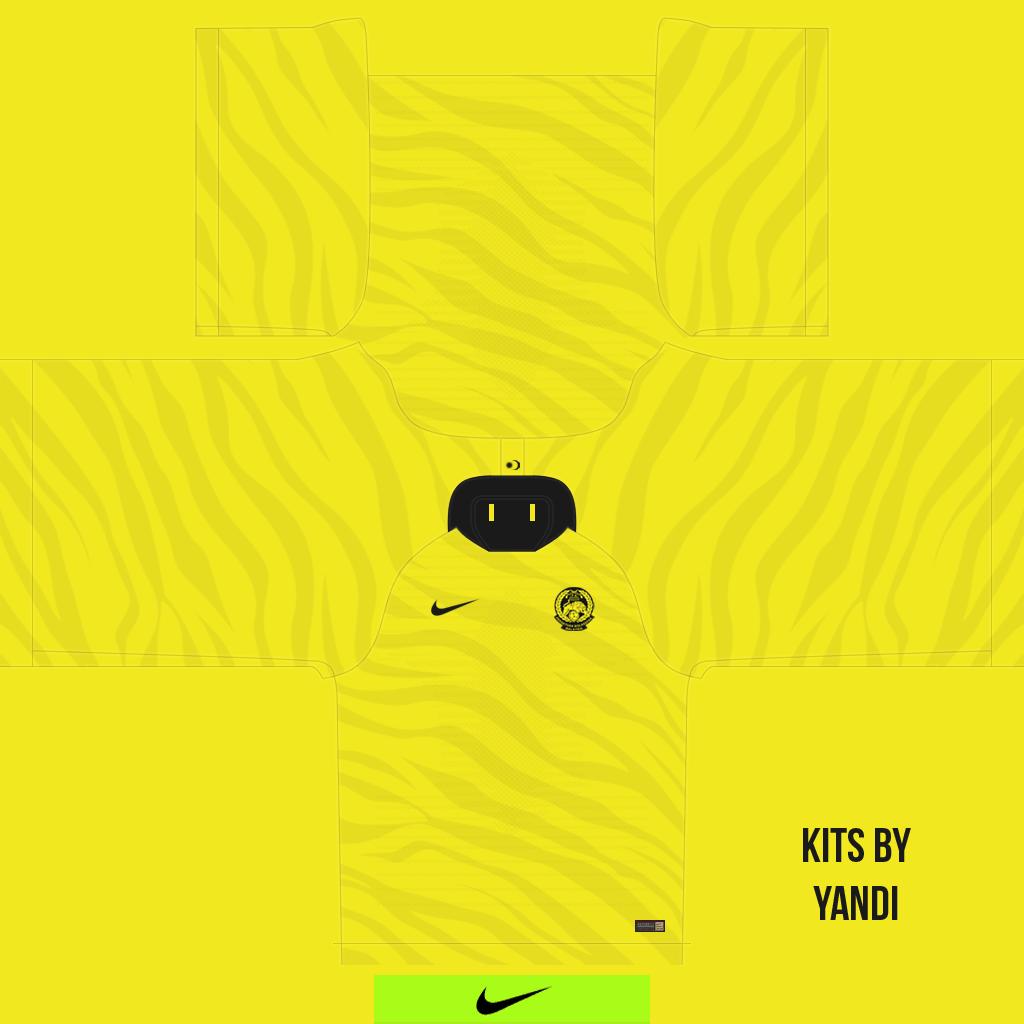 Malaysia Home Kits Kits 8211 Malaysia National Team 8211 18 20