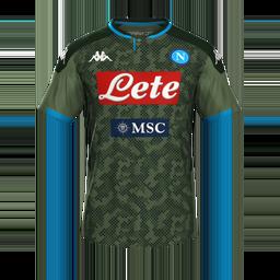 Napoli Away MiniKit Kits Napoli 2019 2020
