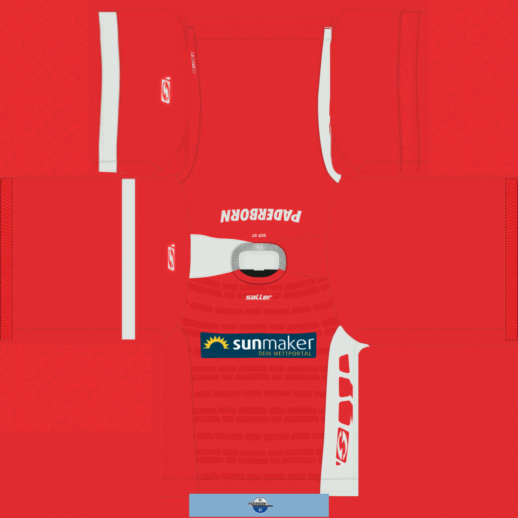SC Paderborn 07 GK Kits Kits 8211 SC Paderborn 07 8211 19 20